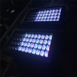 6エフェクト48PCS12W RGBW LED DMX STROBE FLOOD WASH LIGHT WATER-PROOF